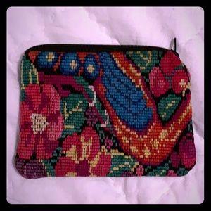 Small zippered change purse